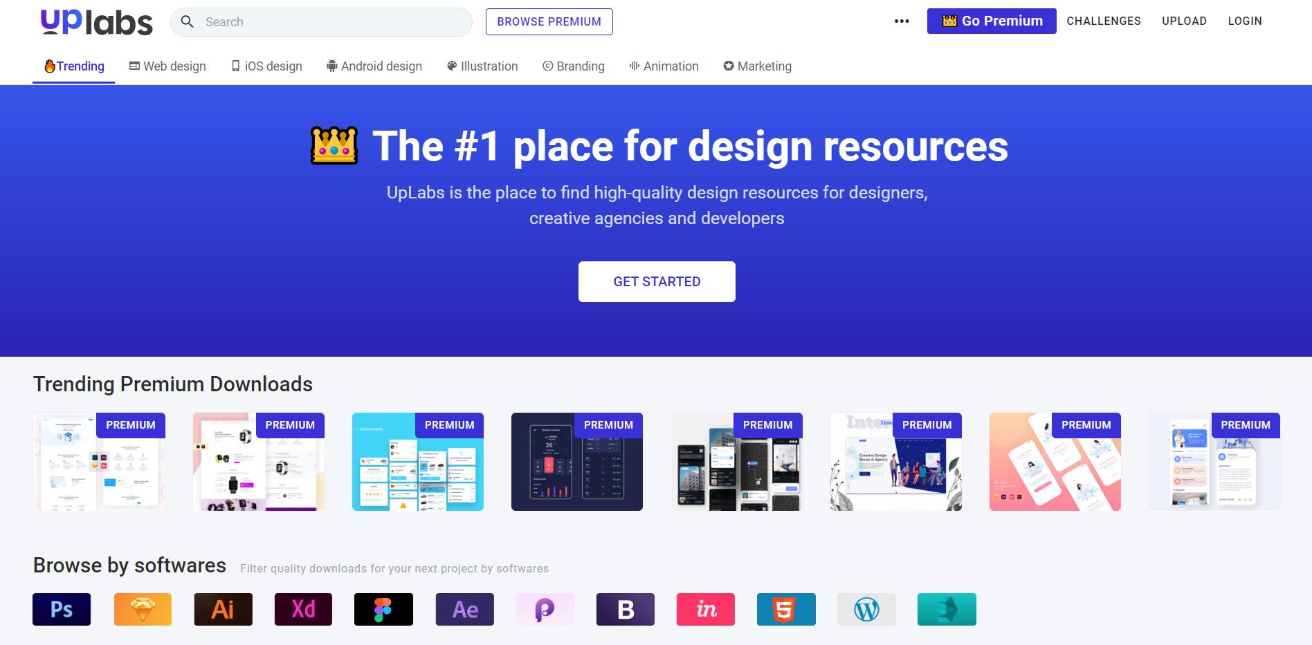 UpLabs website