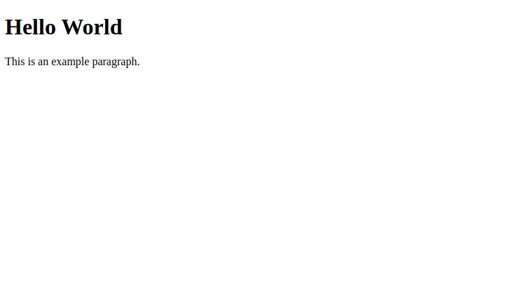 Basic Docking.js website
