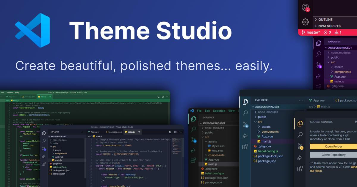 VS Code Theme Studio